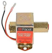 NEW 12V FACET SOLID STATE FUEL PUMP 2-3.5PSI ALL CARBURETED ENGINES FACET 40160N