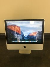 "Apple iMac 20"" 2.0GHz Intel Core 2 Duo 4GB Ram 160GB HD 10.11 El Capitan A1224"