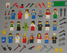 Lego MINIFIGURE Lot 21 People Girls Baseball Police Mummy Monsters Minifigs Toys