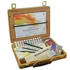 Winsor & Newton Artists Professional Water Colour Bamboo Wood Box - 5ml Tubes