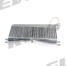REV9 V1 UNIVERSAL TWIN TURBO INTERCOOLER FMIC 28X12X3 400-800HP 2 IN 1 OUT