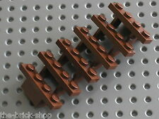 Escalier LEGO RedBrown Staircase 30134 / set 7947 75827 2505 10190 10232 10246..