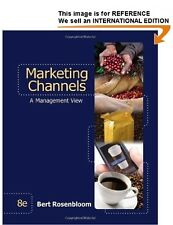 Marketing Channels by Bert Rosenbloom (2011) Int' Edition PaperBack - 8th Ed