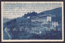 VERBANIA MIAZZINA 30 EREMO Cartolina viaggiata 1935 Edizione A. CONTI - LAVENO