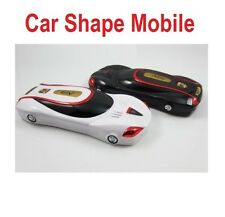 Sports Car Shape Mobile Phone Dual Sim Mobile Phone Car Mobile Basic Phone F5