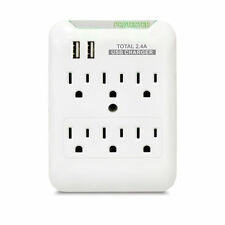 Electrical Outlet, Surge Protector, Wall USB Plate, Receptacle, Electrical Plug