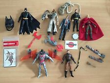 LOT DE 7 FIGURINES/JOUETS BATMAN - ARKHAM KNIGHT - CITY - DARK KNIGHT RISE ETC.