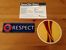 2013-15 Europa League & Respect OFFICIAL Sporting iD LEXTRA SensCilia Patch Set