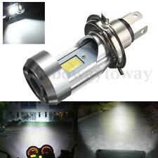 H4 9003 2LED COB Motorrad Scheinwerfer Hi/Lo Beam Fernleuchte Abblendlicht Birne