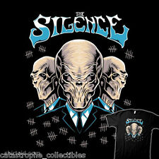 DOCTOR WHO Villains THE SILENCE Time Lord TARDIS NEW TeeFury TEEVILLAIN T-SHIRT