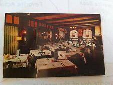 HARMONY RESTURANT JAMACIA NY INTERIOR VIEW 1955 RARE CARD