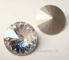 2 SWAROVSKI 1122 MOONLIGHT 16mm RIVOLI STONE CRYSTAL