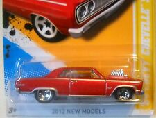 2012 Hot Wheels NEW MODELS #2/50 ∞ '64 C HEVY CHEVELLE SS ∞ MF RED VARIANT