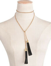 Fashion Women Jewelry Gold/Silver Plated Long Chain Necklace Tassel Pendant