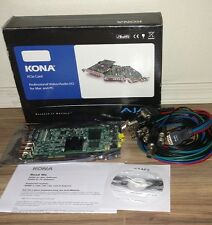AJA Kona LHe-12A-R0 Video Capture & Editing PCI-E Card w/Cable