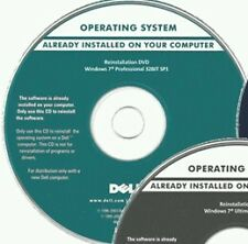 DVD restauration DELL WINDOWS 7 Professionnel 32 bits