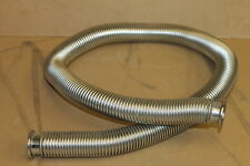 "SS flexible hose, Roughing hose, Vacuum line, KF25, NW25, 48"" length"