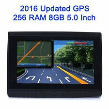"5"" Inch Car Motorcycle Bike GPS Navigator Tablet IPX5 Waterproof Bluetooth 256MB"