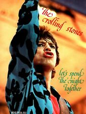 ROLLING STONES 1983 LET'S SPEND THE NIGHT TOGETHER PROGRAM BOOK / MICK JAGGER
