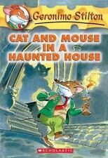 Cat and Mouse in a Haunted House (Geronimo Stilton, No. 3)-ExLibrary