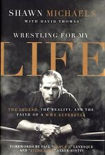 NEW Christian Biography Hardcover! Wrestling for My Life - Shawn Michaels (WWE)