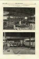 1895 Round Oak Works West Bromwich Steel Melting Shop Rolling Mill