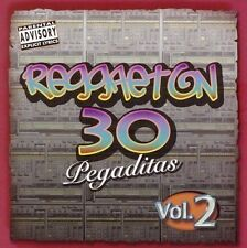 Reggaeton: 30 Pegaditas, Vol. 2 [PA] by Various Artists (CD, Oct-2005, 2 Disc...