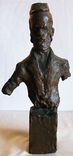 MANE-KATZ מאנה כץ BRONZE SCULPTURE OF A JEW /  PHILOSOPHER- NUMBERED 12 / 12
