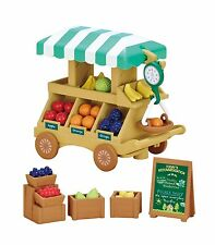 New Sylvanian Families shop fruit wagon Free Postage F/S From Japan