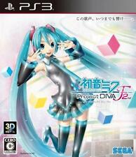 New Play Station3 Hatsune Miku Project DIVA F 2nd