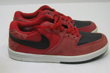 Nike PAUL RODRIGUEZ 7 (GS)-  599657-601- .RED/BLACK size 4.5