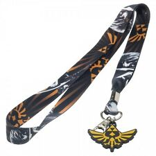 Official Nintendo ZELDA LANYARD -Skyward Sword Triforce Link Mens Key Chain COOL