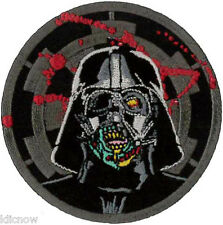 Darth Vader Zombie Patch 7.5cm Dia - Sew On/ Iron On