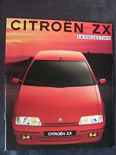 CITROEN ZX - La Collection - Prospekt Brochure 07.1991