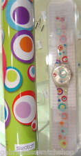PORTUGESE SPECIAL (FRIANDISE)! Swatch ABSTRACT CIRCLES in Sp. Tube! LTD-RARE!
