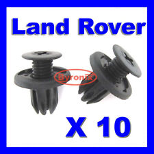 LAND ROVER DISCOVERY 2 FRONT COWL RADIATOR GRILLE PLASTIC CLIPS DYQ100230 X10