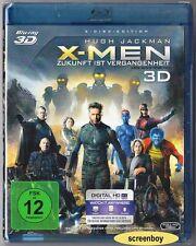 """X-MEN ZUKUNFT IST VERGANGENHEIT"" - MARVEL - BLU RAY 3D + 2D - 2-Disc-Set OVP"