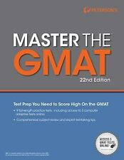 Master the GMAT, 22nd Edition (Peterson's Master the GMAT)-ExLibrary