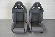 FERRARI F141 599 GTO SPORT SEATS CARBON LEATHER ALCANTARA