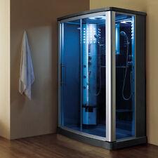"""54"""" 2-Person Steam Shower Enclosure w/Sliding Glass Door-7 Year Warranty!"""
