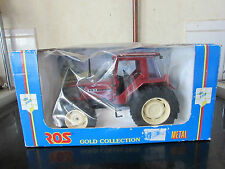 RARE JOUEF GROUP ROS TOYS 00012 GOLD COLLECTION TRACTOR FIAT F130 TURBO