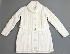 New Authentic Gucci Kids Girls Wool Sweater Knitwear Top, sz 3, White