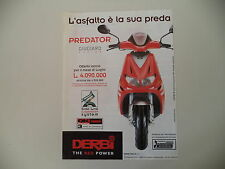 advertising Pubblicità 1998 DERBI PREDATOR