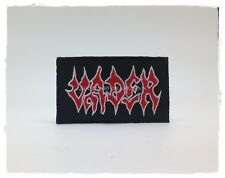 Vader Sew Iron On Patch Rock Band Logo Music Embroidered Heavy Death Metal New