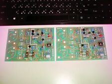 2 SETS OF SEMI ASSEMBLED POWER AMPLIFIER DRIVER BOARD BASED ON QUAD 405
