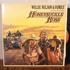Willie Nelson & Family Honesuckle Rose 2 X LP Columbia VG