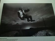 Sly Stone in 1981 Getting High Single Page Poster from Music Magazine 20x15cm