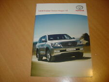 CATALOGUE Toyota Land Cruiser Station Wagon V8 de 2008