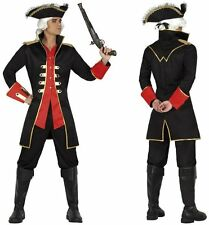 Costume Capitaine PIRATE XL Déguisement Adulte Homme