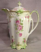 M.Z. Austria China Floral Coffee Pot ~ Kaiserin Maria Theresia Carlsbad